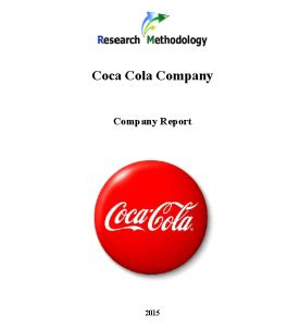 Coca Cola Competitive Advantage Researchomatic